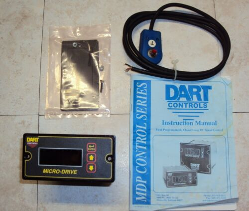 Dart Controls MD10P Controller with PU-E feedback Encoder New Old Stock
