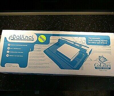 Colibri System Book Covering Machine E-davinci Cover Lamination Colibri System