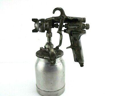 Vintage Binks Model 7 Spray Gun W Cup - Automotive Auto Paint Sprayer