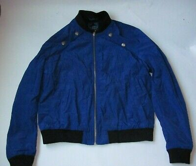 Versace Jeans Jacket, color blue