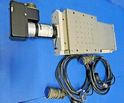Aerotech Ats20015 Ball-screw Linear Stage 1050lt Motor Cables Travel 150mm