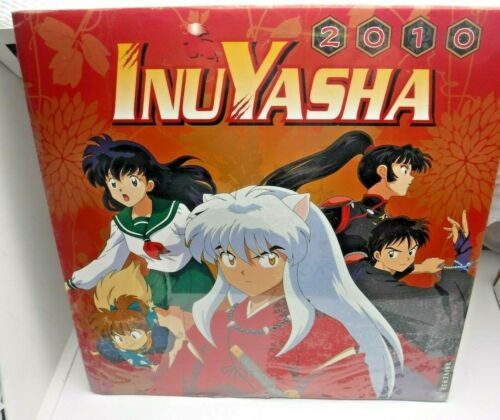 2010 InuYasha Japan Anime Takahashi Rumiko Wall Calendar Sealed