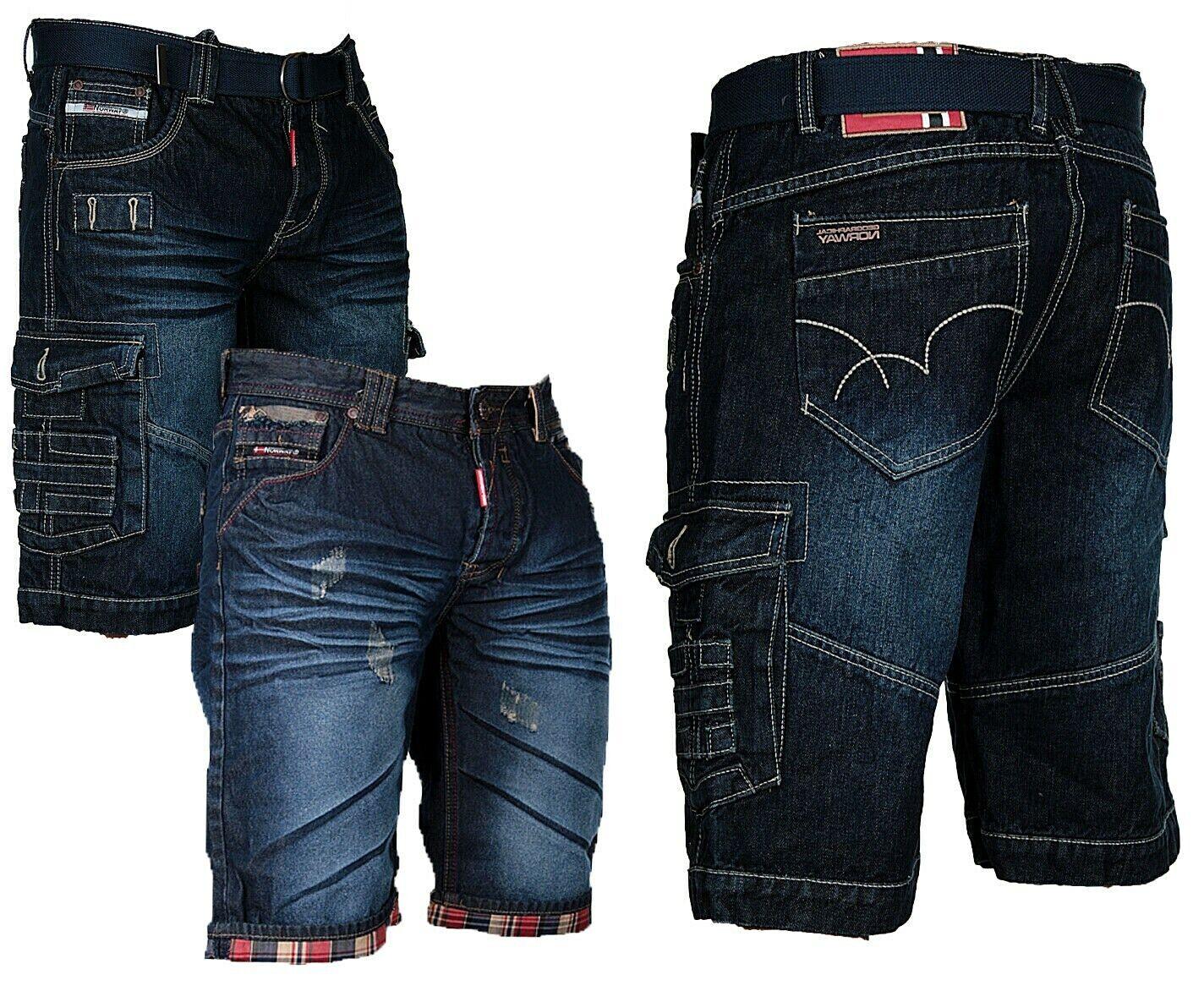 geographical norway Herren Cargo Shorts kurze hose Bermuda knielang Jeans short