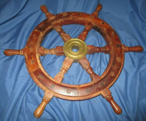 DISNEY PARKS & RESORTS Cast Member Prop ~Ship Wheel (Pirates of the Caribbean?)