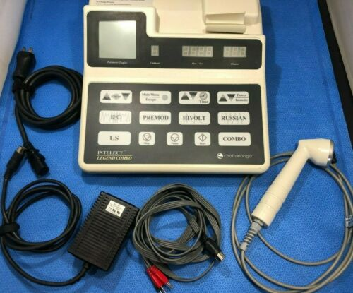 Chattanooga Intelect Legend Combo 2C Ultrasound Therapy Generator w Acces kp
