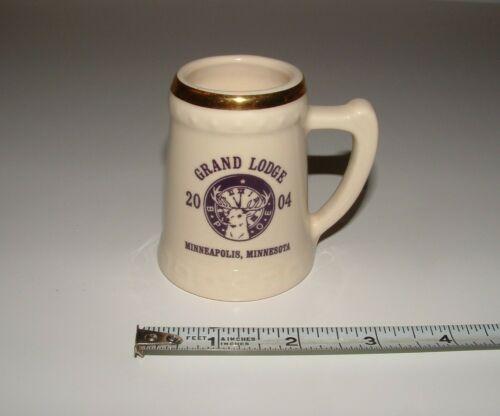 Grand Lodge Minneapolis Minnesota 2004 Mini Ceramic Mug, USA, pre-owned