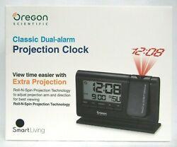 NOB Oregon Scientific RM308P Classic Dual-Alarm Projection Clock - Black