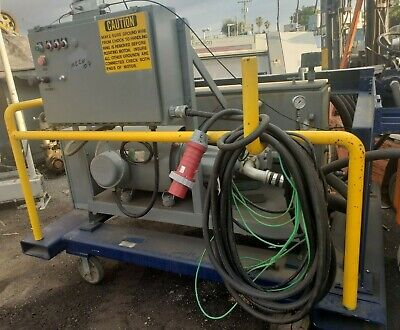 50 Hp Hydraulic Pumping System With Controls And Hydac Contamination Sensor