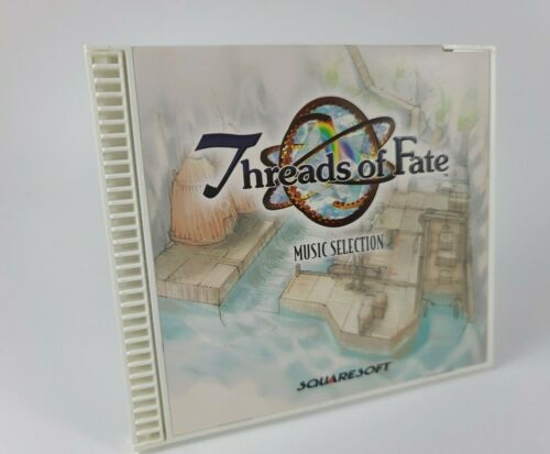 Threads of Fate Music Selection CD Squaresoft BRAND NEW