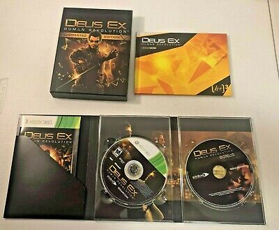 Deus Ex: Human Revolution - Augmented Edition (Xbox 360, 2011) - COMPLETE for sale  Shipping to Nigeria