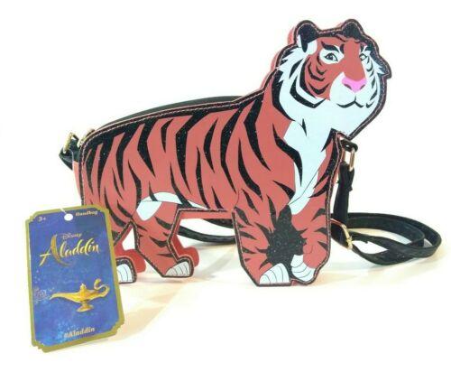 Girls Aladdin Rajah the Tiger Crossbody Bag Designed by Michael Wilkinson Purse