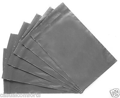 25 STRONG GREY MAILING PACKAGING POSTING POSTAL MAIL BAGS,250 x 350mm, 10