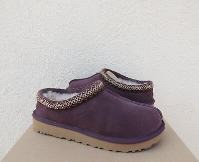 UGG TASMAN PORT SUEDE/ SHEEPSKIN SLIPPERS/ SHOES, WOMEN US 7/ EUR 38 ~ NIB