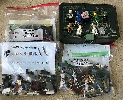 Lego Ninjago Lot (70608, 70501, 70607 plus minifigures and box)