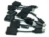 Lot of 5 GENUINE DELL Display Port DP to DVI Adapter KKMYD 0KKMYD DANARBC084