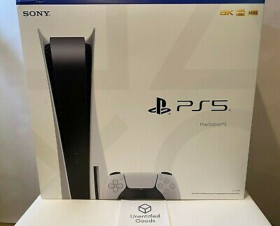 Sony Playstation 5 PS5 Disc Version ***In Hand & Ready To Ship*** 🚚 NEW IN BOX!