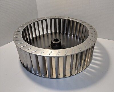 A201 Jan-air Squirrel Cage Fan Wheel 12-14 Od 3-12 Wide 40 Blade 78 Drive