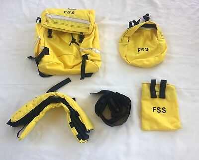 New Field Pack Firefighters Helena Industries 5 Pieces All In One Bag