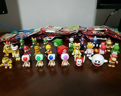 Knex Super Mario Figures - You Pick, Bowser Jr Waluigi Luigi Princess Cat DK
