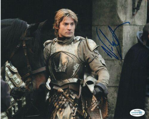 Nikolaj Coster Waldau Game of Thrones Autographed Signed 8x10 Photo ACOA