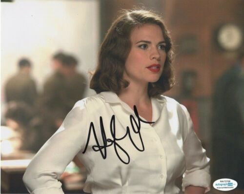 Hayley Atwell Agent Carter Autographed Signed 8x10 Photo ACOA