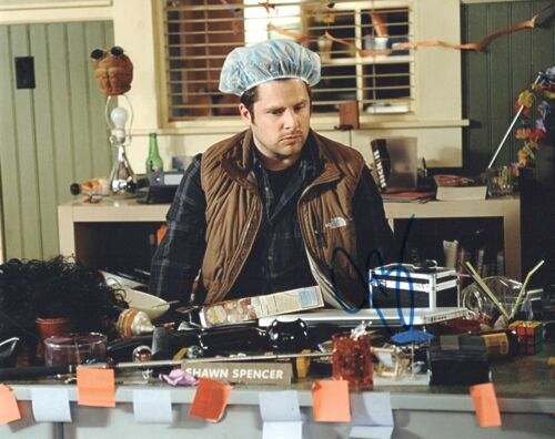 James Roday Rodriguez Psych Autographed Signed 8x10 Photo COA 2020-3
