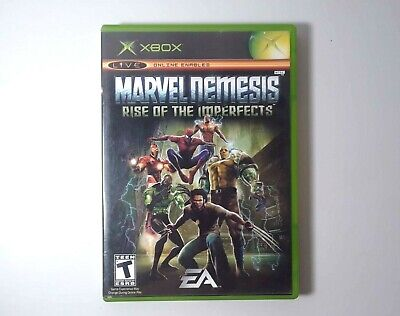 Marvel Nemesis: Rise of the Imperfects (Microsoft Xbox,