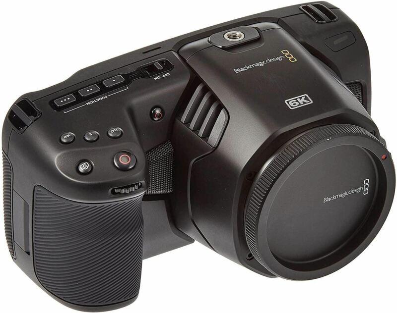 Blackmagic Design Pocket Cinema Camera 6K with EF Lens Mount