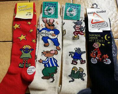 5 x paar Kinder Mädchen Jungen Socken Kniestrümpfe Kostüm Gr,27/30 (Paare Kostüm Mädchen)