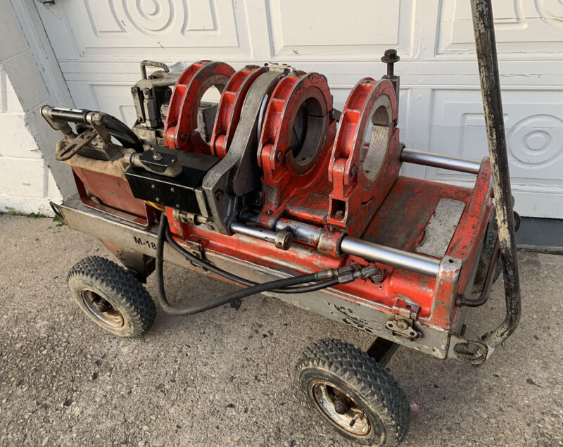 Ridgid P&S BF-86C PIPE FUSION MACHINE , Great Working