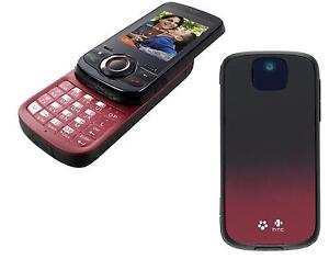 New HTC Shadow 2 II 2009 09 Burgandy Black Unlocked T-Mobile Quadband GSM Phone