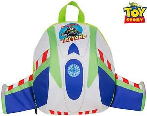 4fa1d02ba00 Toy Story Buzz Lightyear Dome Padded Backpack with Wings Disney Pixar  School Bag