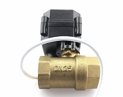 Hsh-flo Motorized Ball Valve 2 Way Cr-05 Npt Dc12v Brass Electrical Ball Valve