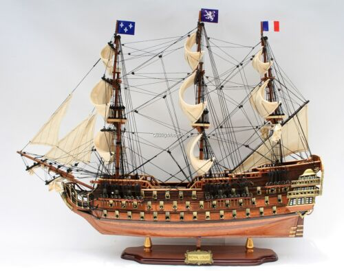 "Royal Louis 35"" Display Wooden Ship Model"