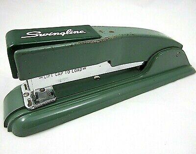 Vintage Swingline Stapler Desktop Mid Century Modern 8.5 In. Script Logo
