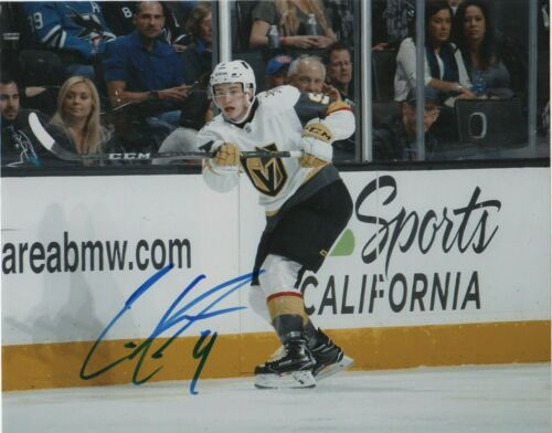 Vegas Golden Knights Cody Glass Autographed Signed 8x10 Photo COA #3