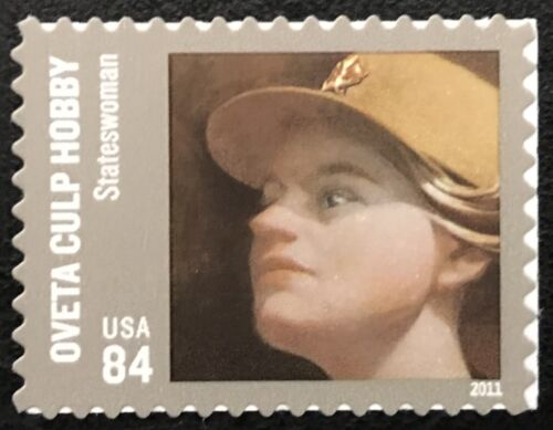 2011 Scott #4510 - 84¢ - OVETA CULP HOBBY - Single Stamp - Mint NH
