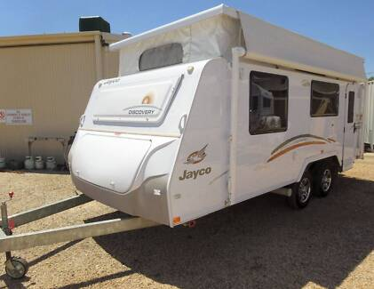 "2012 JAYCO DISCOVERY 18'1"" POP TOP CARAVAN Evanston Gawler Area Preview"
