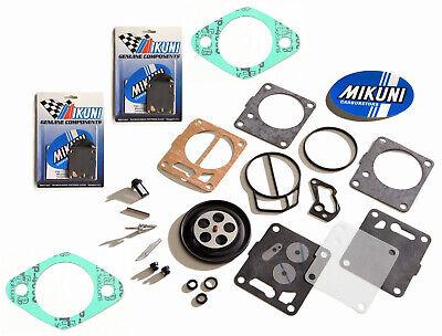 Sea Doo GTX GSX Genuine Mikuni Twin Carb Carburetor Rebuild Kit & Base Gaskets