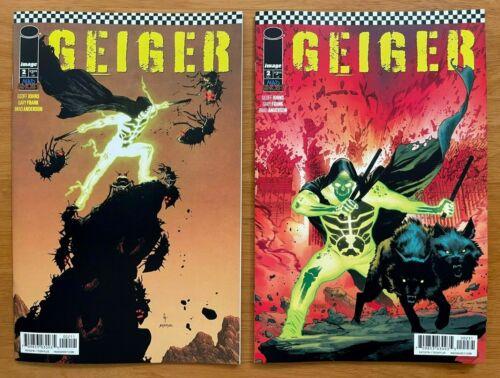 GEIGER #2 Gary Frank Main +Mahmud Asrar Variant Set Image Comics NM
