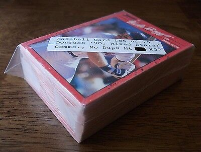 Donruss 90 Baseball Cards Lot 75 Stars   Com No Dups  Mint  Vintage Vtg Old Mlb