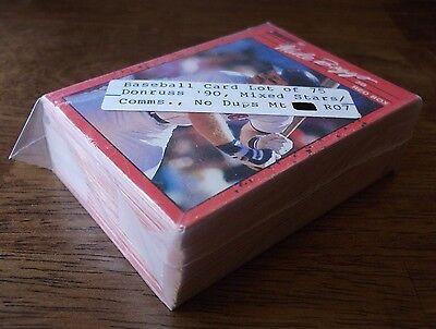 Donruss 90 Baseball Cards Lot 75 Stars   Com No Dups  Mint  Vintage Vtg Old Mlb