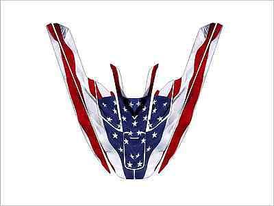 kawasaki 650 sx jet ski wrap graphics pwc stand up jetski decal american flag for sale  Shipping to South Africa
