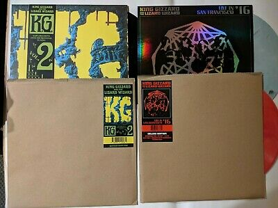 2 King Gizzard - Live In San Fran '16 + Explorations LP NEW FREE SHIP in USA