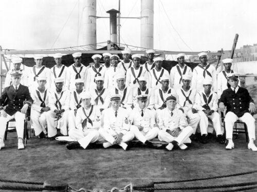 U.S. Coast Guard African American Integrated Crew Cutter Yocona- 1925 Photo