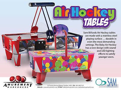 Air Hockey, Pool, Soccer/Foosball Tables, Juke Boxes, Arcade Consoles and more Air Hockey Pool Tables