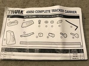 Thule roof rack fits most tent trailers