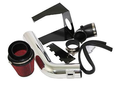 "4/"" BLACK Heat Shield Cold Air Intake Induction Kit+Filter For 09-10 F150 5.4L V8"