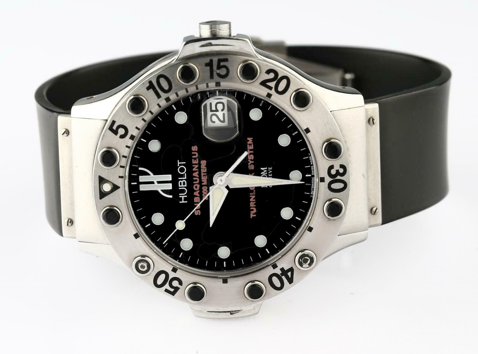 Hublot MDM Subaquaneus Turnblock Ref#1950.1 Automatic Stainless Steel Wristwatch - watch picture 1