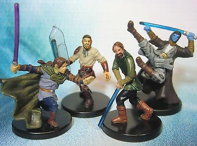 Star Wars Miniatures Lot  Shado Vao Kyp Durron Corran Horn !!  s97